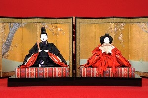 Festival Dolls Representing the Emperor and the Empress  1914